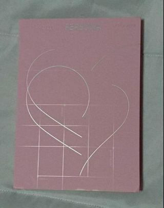 BTS Map Of The Soul: Persona Album - version 1