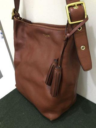 Original Coach Duffle Brown