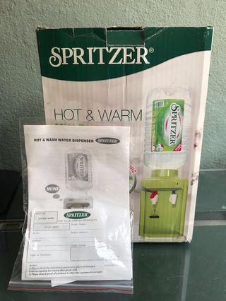 Spritzer hot and warm mini dispenser