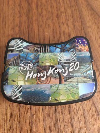 香港風景 電子磅 密碼鎖 行李 帶 喼 Luggage belt digital balance
