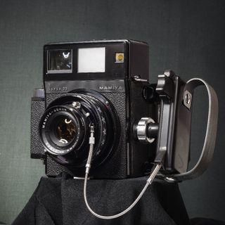Mamiya Press Super23 6x9 film swing back technical camera + Sekor 100mm f3.5 + 6x9 Back + Pint Hood