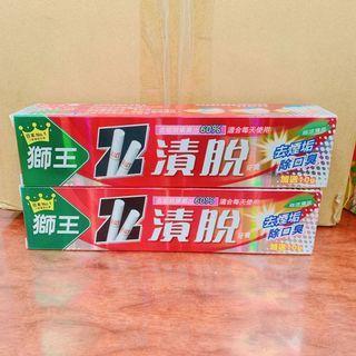 🚚 歡迎批發》日本🇯🇵獅王 漬脫 去菸臭 牙膏 160g