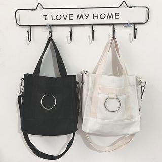[P.O] Korean Lunch Box Ring Sling Bag