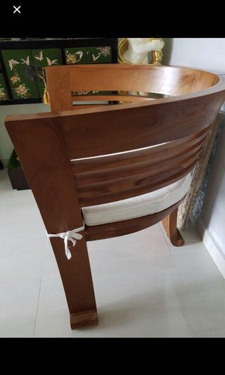 Solid Pine Armchair