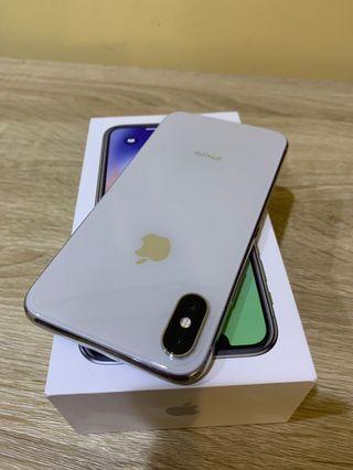 IPhone X 64白銀❄️