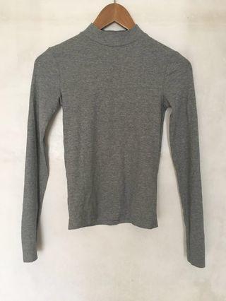 Zara Trafaluc Mock Turtleneck Sweater