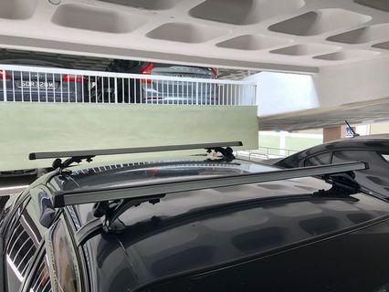 Roof racking system, aluminium, adapter for various car models