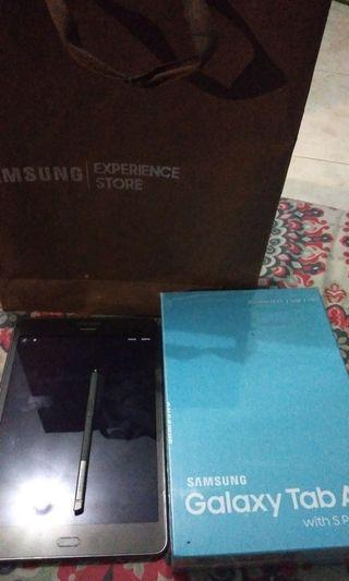 Samsung tab A 8 inch with s pen grey