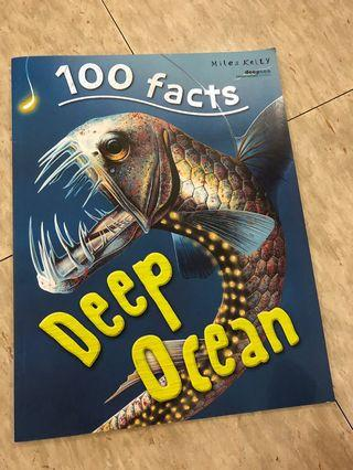 100 facts deep ocean