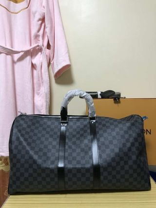 dfb9ed57f1aa Louis Vuitton LV Keepall Bandouliere 55 Travel BAG AUTHENTIC COPY