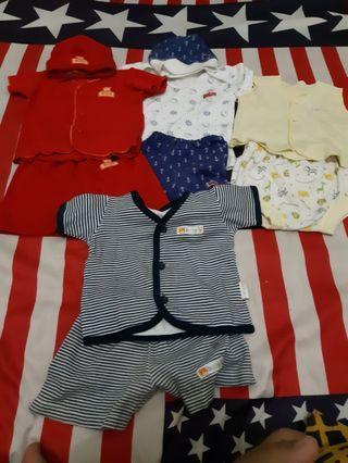 Baju bayi 4stel