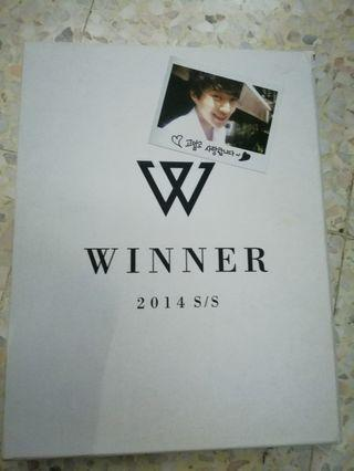 WINNER 2014 S/S LIMITED EDITION (Whiter ver.)