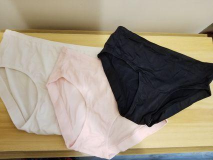 歐美單Panty underwear 女裝牛奶絲內褲x3