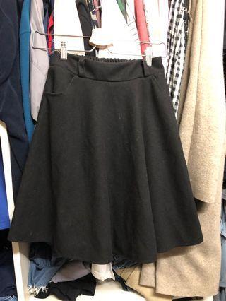 🚚 毛料裙