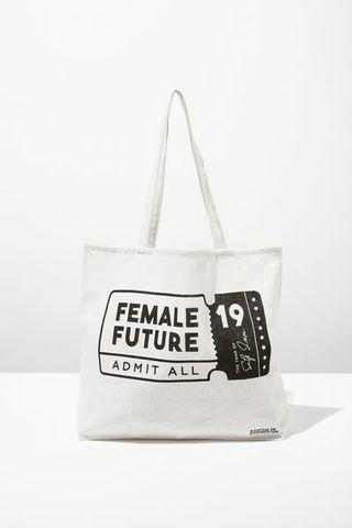 New! Cotton On Tote Bag Female Future