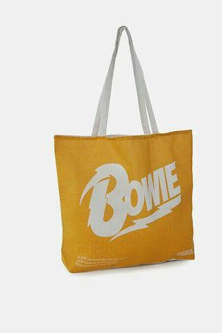 New! Cotton On Tote Bag David Bowie