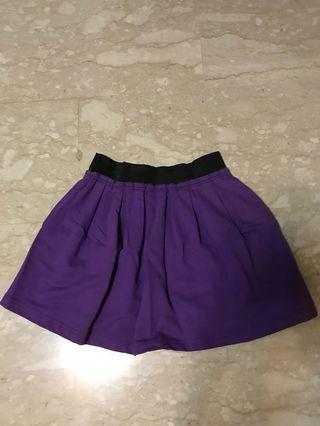 🚚 Purple Short Skirt
