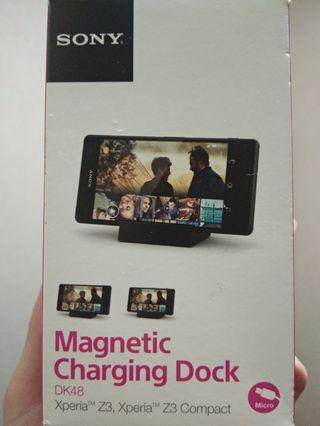 Sony Magnetic Charging Dock DK48 Xperia Z3/Compact#MTRtm