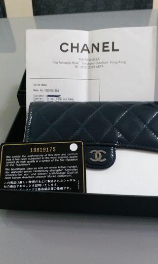 Chanel 中長銀包(全新 有單)