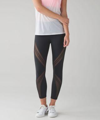 Lululemon High Times Metta Deep Coal Size 8