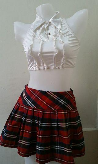 School Girl Theme Outfit