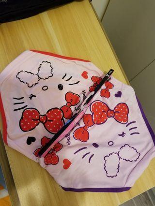 Sanrio Hello Kitty女裝內褲x2