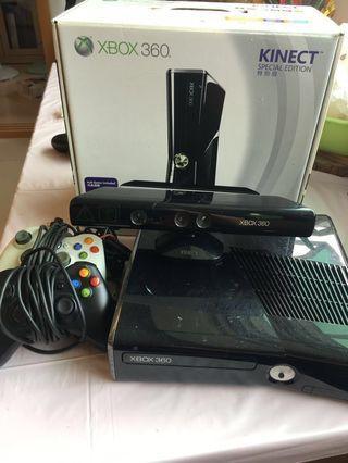 Xbox360+Kinect+手把x2
