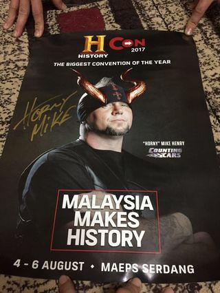 Poster-Horny Mike (Counting Cars)