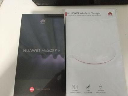 BNIB Huawei Mate 20 Pro (Twilight) 128gb with official wireless charger
