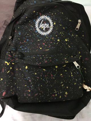 Hype 彩色潑墨後背包