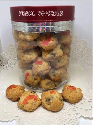 Almond Choconut & Pearl Cookies