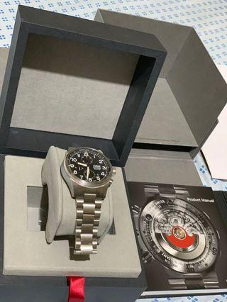 Oris Propilot Chronograph not Tag Tudor Rolex Omega Breitling