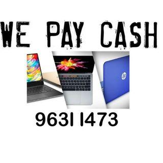 We Pay Cash to Buy New Used Lenovo Asus Dell Acer Hp Huawei Xiaomi Laptop & Notebook