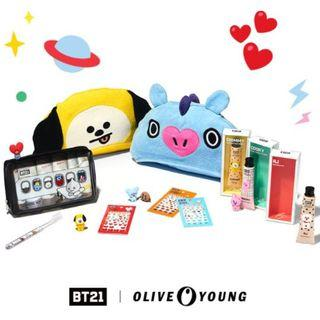 BT21 x Olive Young 2