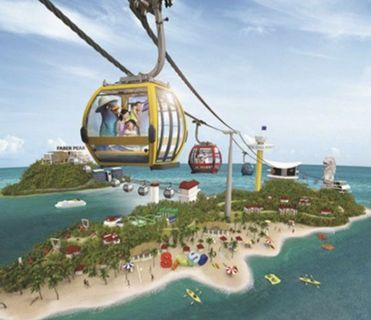 Singapore Cable Car Round Trip 2 way Adult Ticket - Instant Delivery