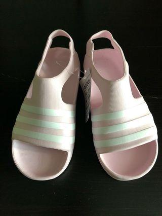 (Size 9K) Brand New Adidas Pink Sandal/ Shoes