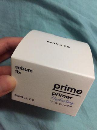 Banila co primer hydrating finish powder $120