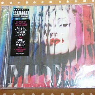 CD Madonna - MDNA Deluxe South East Asia Edition 麥當娜麦当娜