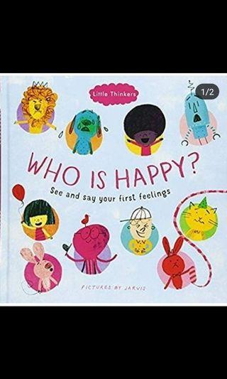 Who is Happy - See And Say your First Feelings