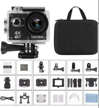 #EndgameYourExcess. BEDEE 4K ACTION CAMERA with Touch Sensor