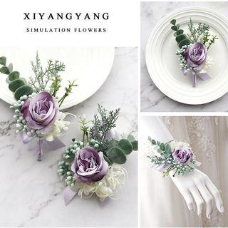 🚚 Purple Rose Boutonnières