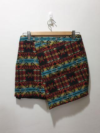 🚚 Dotti tribal skirt in size 10