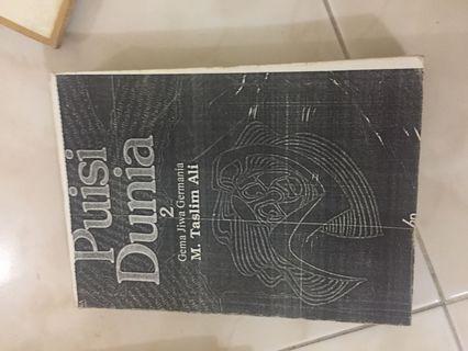 Buku kopian puisi
