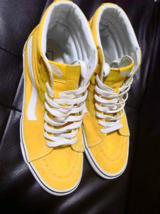 Vans SK8 Hi - Mustard Yellow