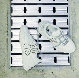 全新品:超夯女生MLB Korea增高6cm增高鞋底老爹鞋