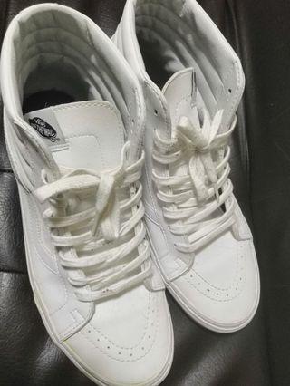 Vans SK8 Hi - Triple white