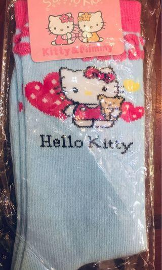 (包郵!!)Sanrio hello kitty socks 女童襪