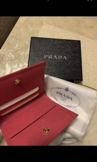 Prada Wallet Rose colour