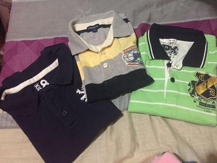 Bundled Polo shirt for kids