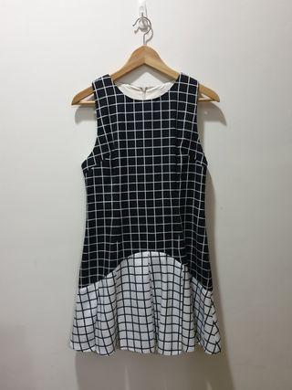 Lovebonito checkered dress in Large